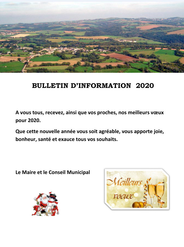 Bulletin d'informations 2020